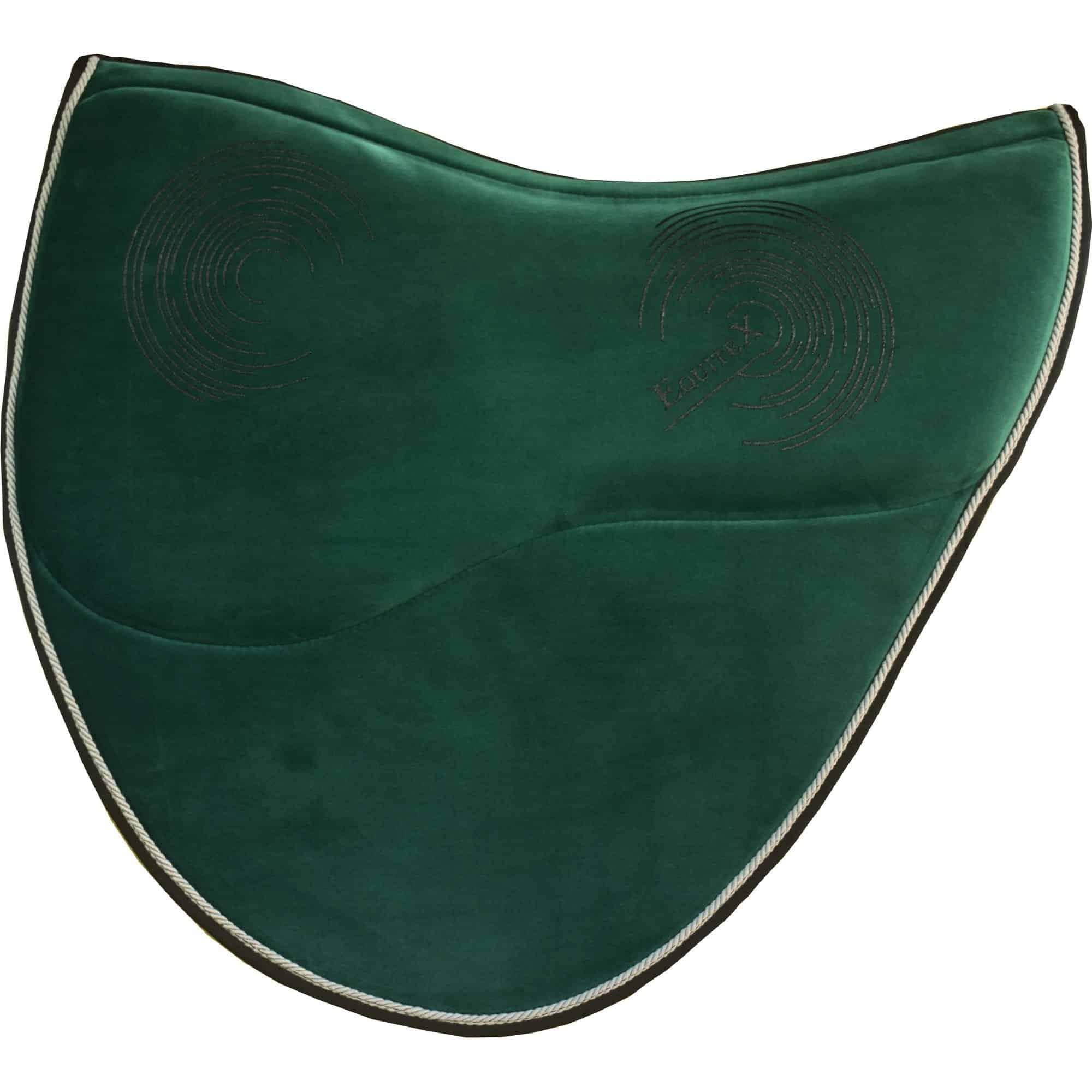 Saddle pads for treeless saddles